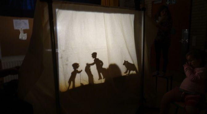 Schattentheater im Projektunterricht