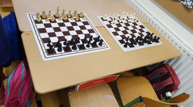 Zweiter Tag des Schnupper-Schachs