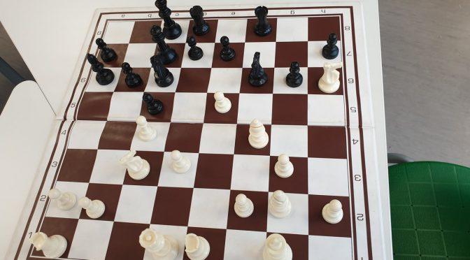 Überraschung an dritten Tag der Schnupper-Schach-Tage